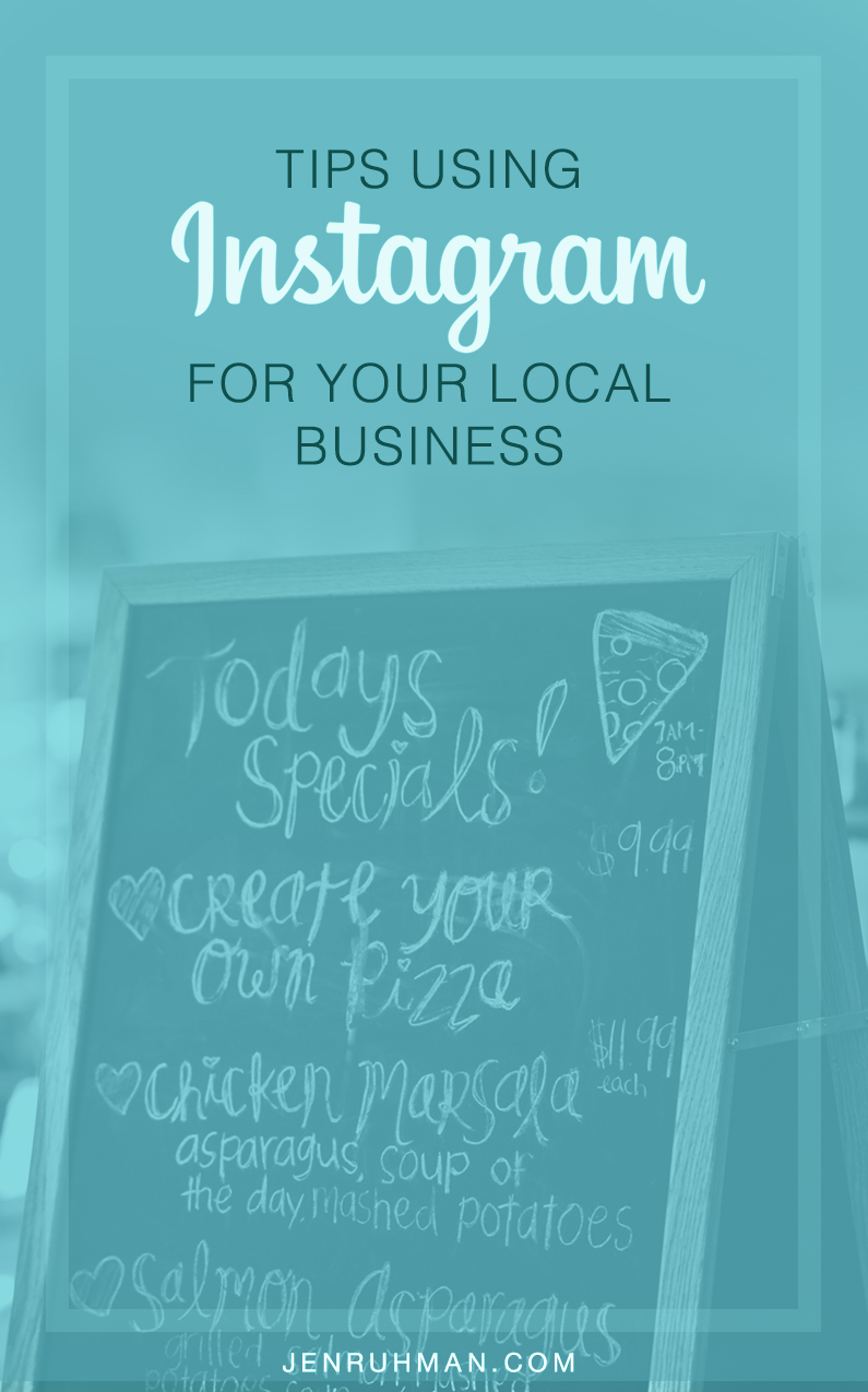 tips using instagram for local business