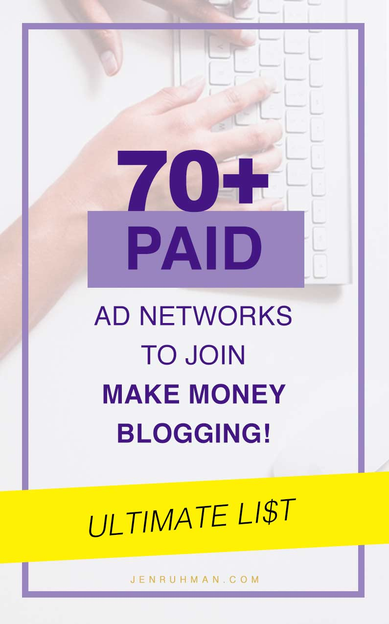 Ad Networks to Join to Make Money Blogging