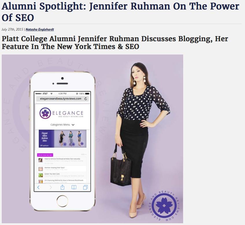 Jen Ruhman SEO queen