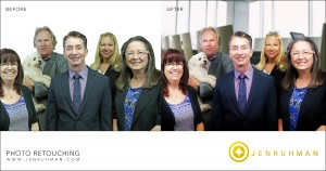corporate photo editing San DIego