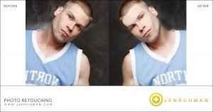 photo retouching for men