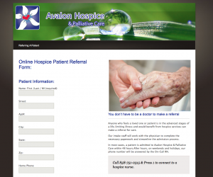 refer a hospice patient in San Diego
