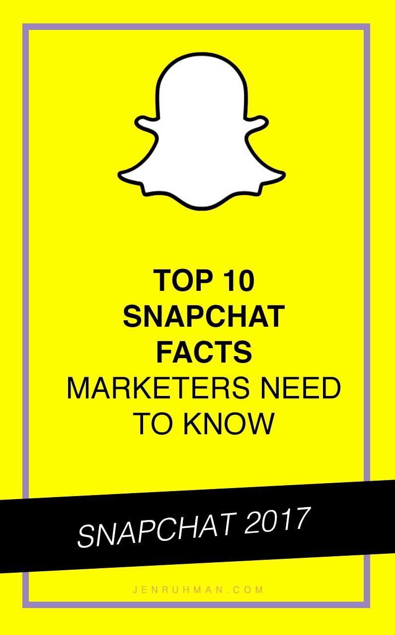 snapchat facts 2017