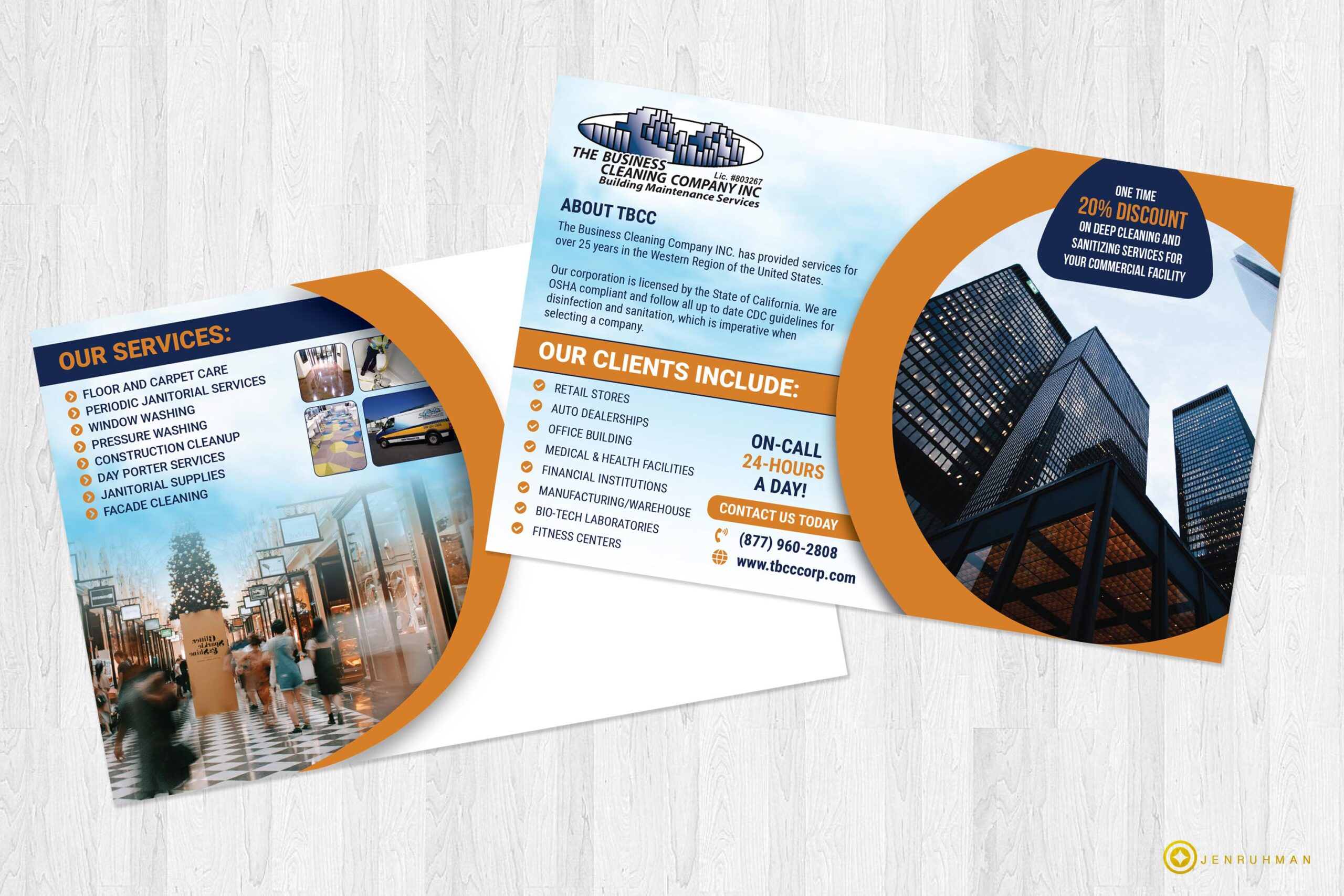 postcard design services San Diego